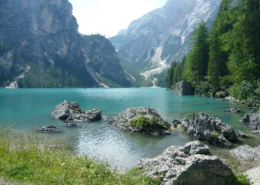 Lago di braies for Laghi vicino milano