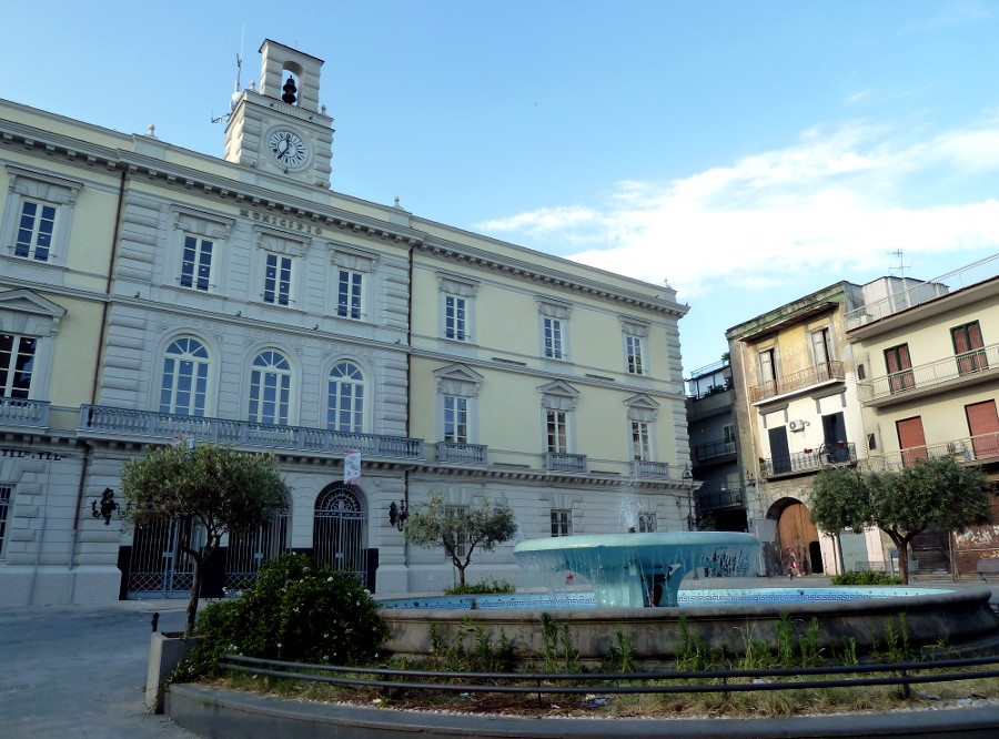 Afragola Piazza Municipio
