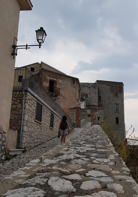 Montesarchio Passerella di ingresso al Castello