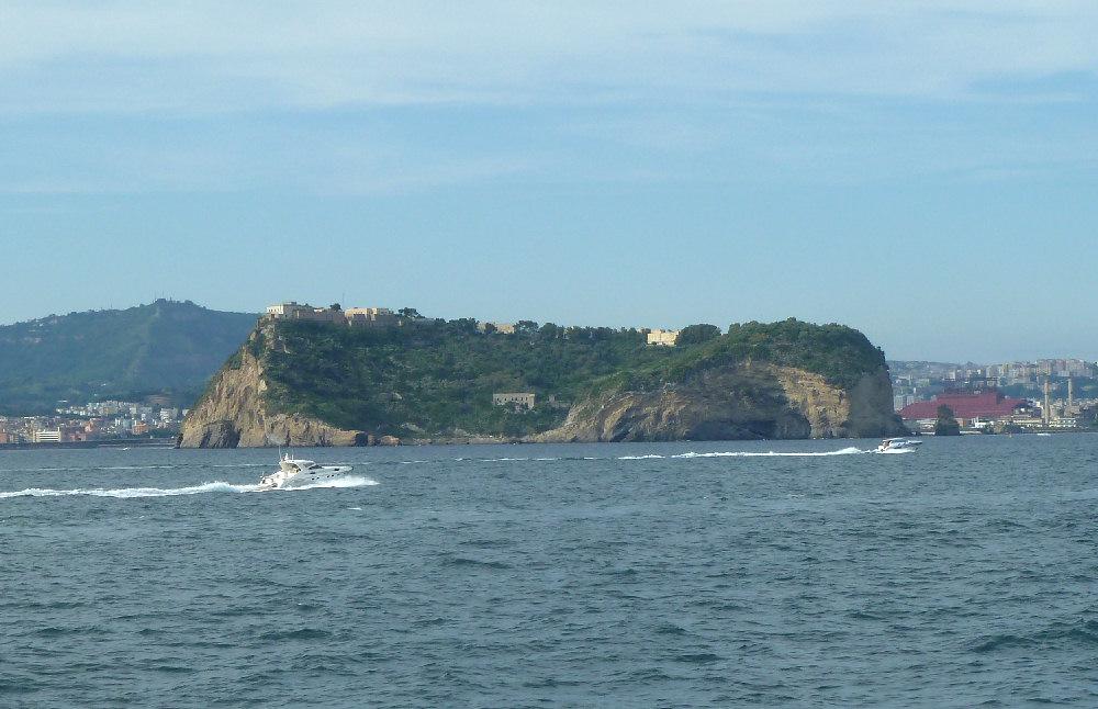 Risultati immagini per nisida vista dal mare