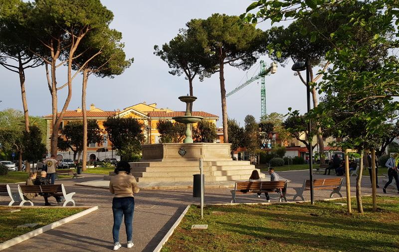 Orbetello Piazza Mario Cortesini
