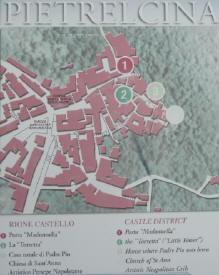 Cartina Rione_Castello di Pietrelcina
