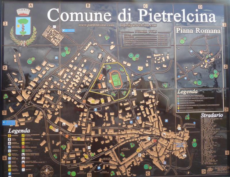 Cartina di Pietrelcina