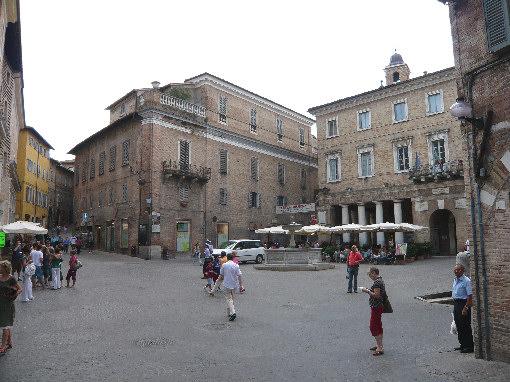 Piazza della Repubblica di Urbino