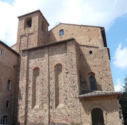 Retro della Chisa di San Domenico