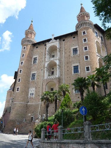 Torricini del Palazzo Ducale di Urbino