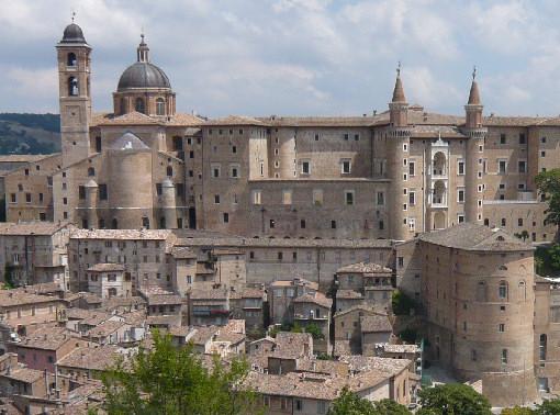 Veduta di Urbino