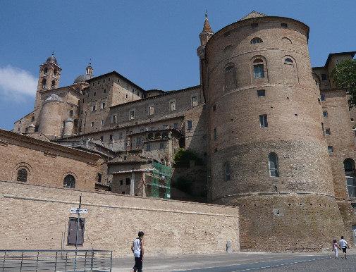 Urbino vista da Borgo Mercatale