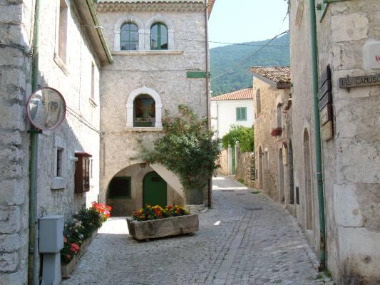 Centro storico di Civitella Alfedena