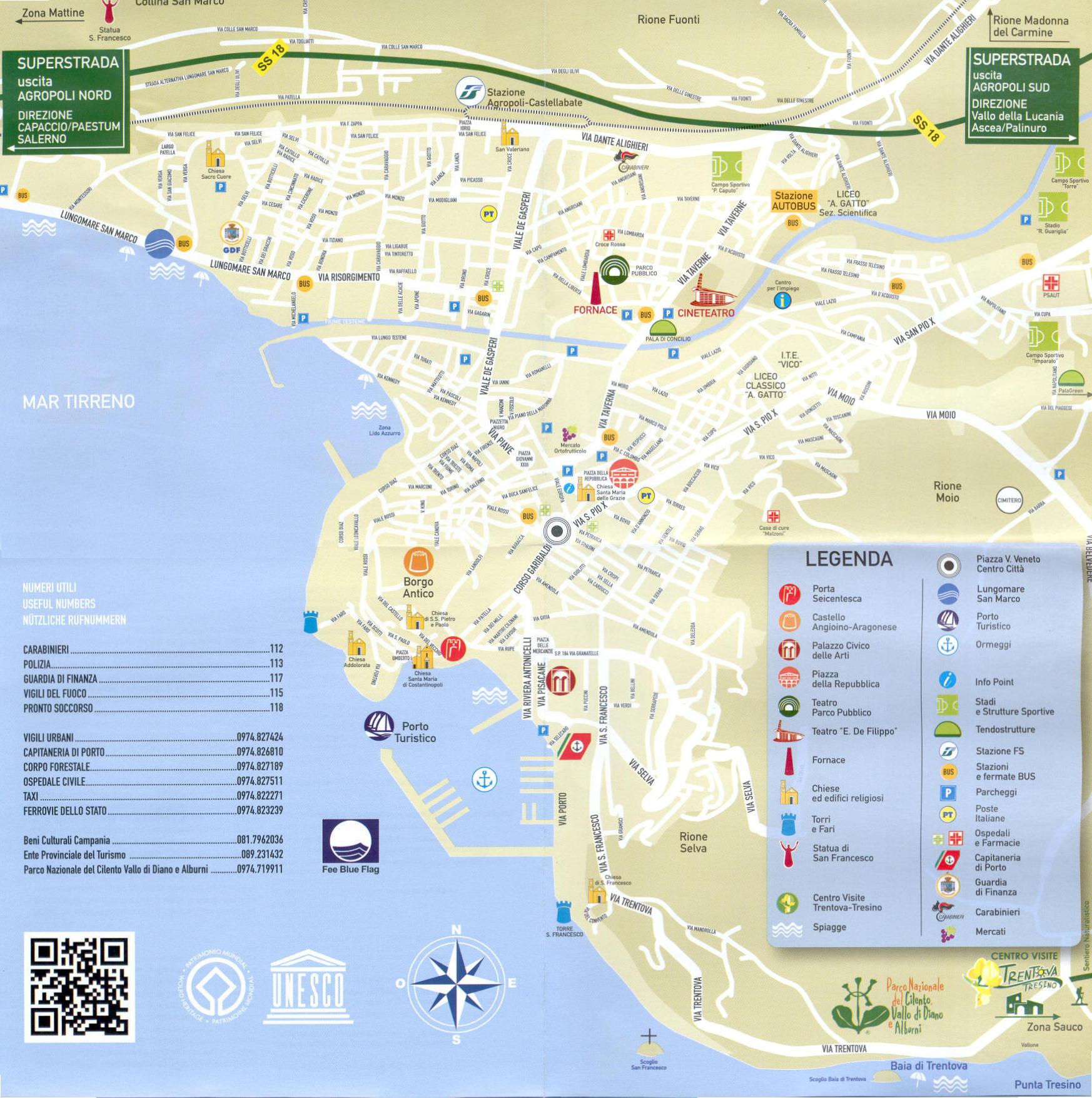 Sapri Cartina Geografica.Cartina Di Agropoli