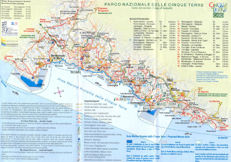 Cartina 5 Terre E Dintorni.Cartina Delle Cinque Terre Immagini E Cartina Cinque Terre