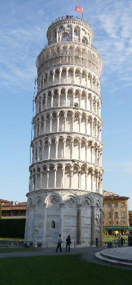Pisa Torre Di Pisa Lato Est