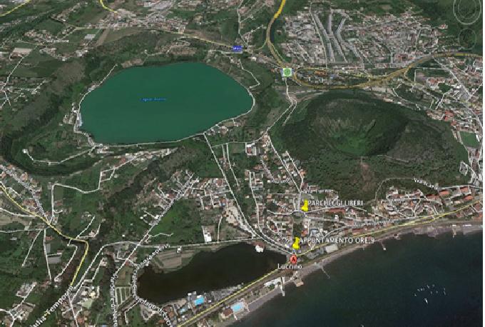 Monte nuovo e lago d 39 averno escursione con pranzo in for Lago lucrino