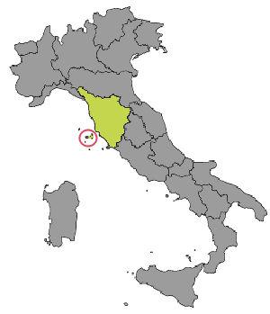 Cartina Italia Isola D Elba.Cartina Dell Isola D Elba