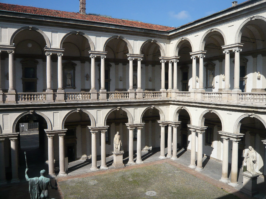 Palazzo brera di milano for Belle arti milano brera