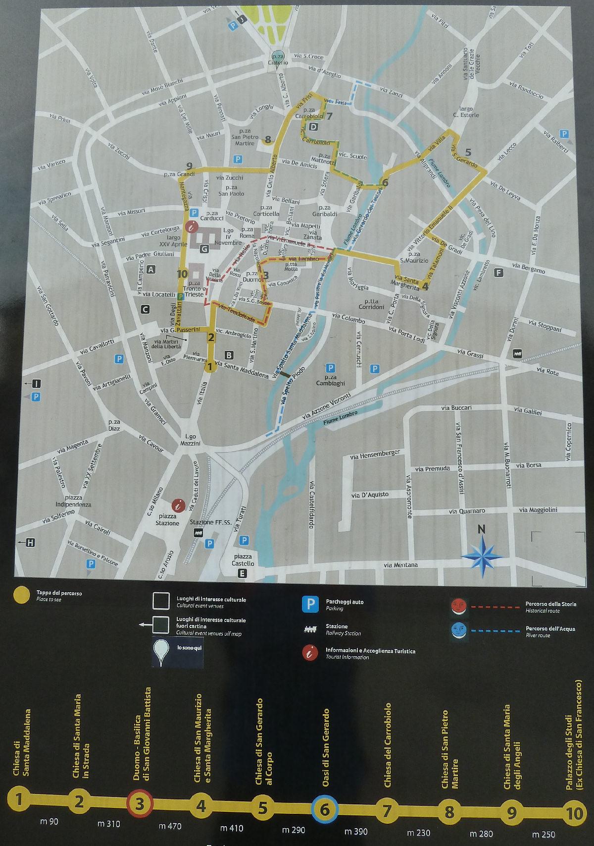 Cartina Toscana Dettagliata Da Stampare.Cartina Di Monza