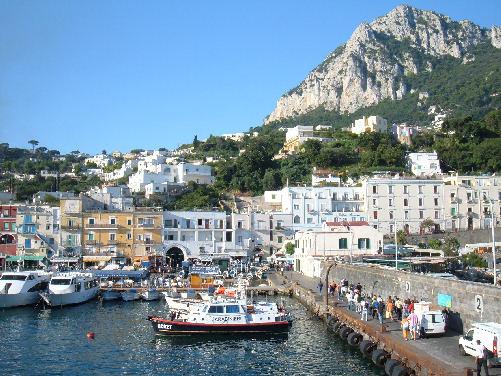 MARINA GRANDE di CAPRI - Foto della Marina Grande di Capri