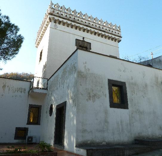 Museo della ceramica di vietri sul mare for Interno della torretta vittoriana